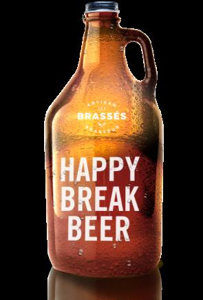 happy break beer